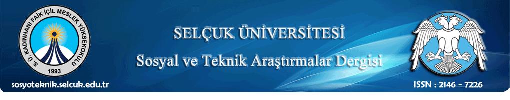 Selçuk Üniversitesi Mühendislik, Bilim ve Teknoloji Dergisi